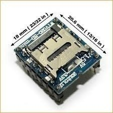 Modulo Mp3 Wtv020 Sd 16p Audio Mp3 Para Arduino Rasp Mona