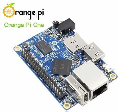 Orange Pi One Quadcore 1.2 Ghz Hdmi 512mb Ddr3 Mona