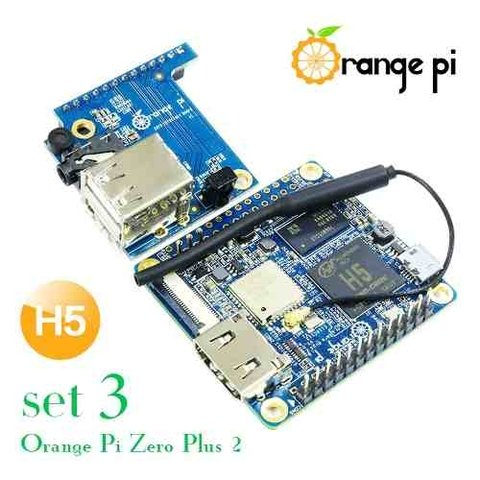 Orange Pi Zero Plus 2 Quadcore 1.2 Ghz Hdmi 512mb Ddr3 Mona