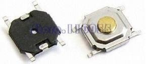 Smd Tact Switch Pulsador 4x4x1.5mm Mona