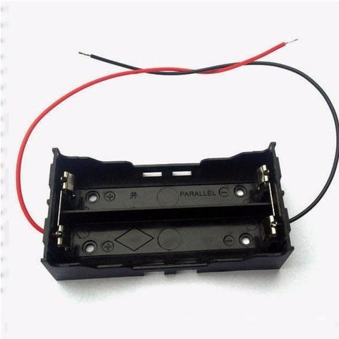Porta Bateria Holder 18650 X2 3,7v Mona