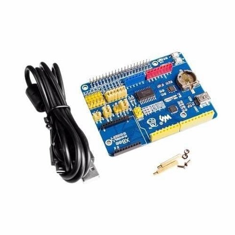 Arpi600 Adaptador Shield Arduino Raspberry Pi Mona