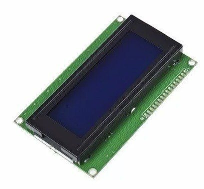 Display Lcd 2004 Backlight Azul 20x4 Hd44780 Ard Pic Mona - comprar online