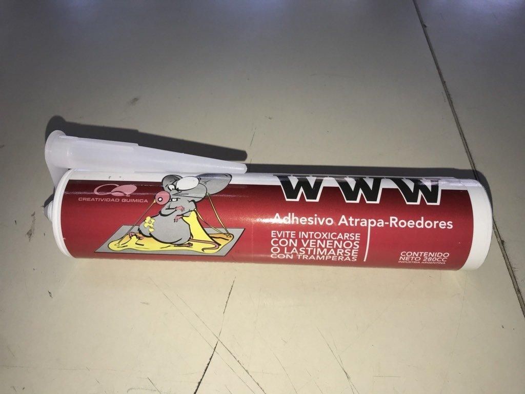 WWW Adhesivo Atrapa-Roedores
