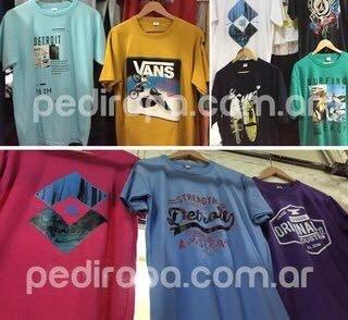 Pack 5 Remeras Eco - Comprar en pediropa 1fc62c42ad3