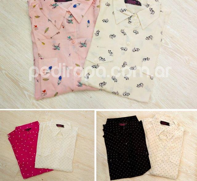 Pack x 5 Camisas Mujer Manga Larga 9f827e162d2