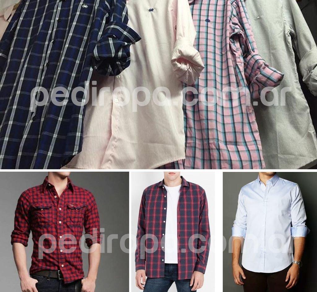 Pack x 5 Camisas Hombre Moda - Comprar en pediropa 775b2bd2e4f