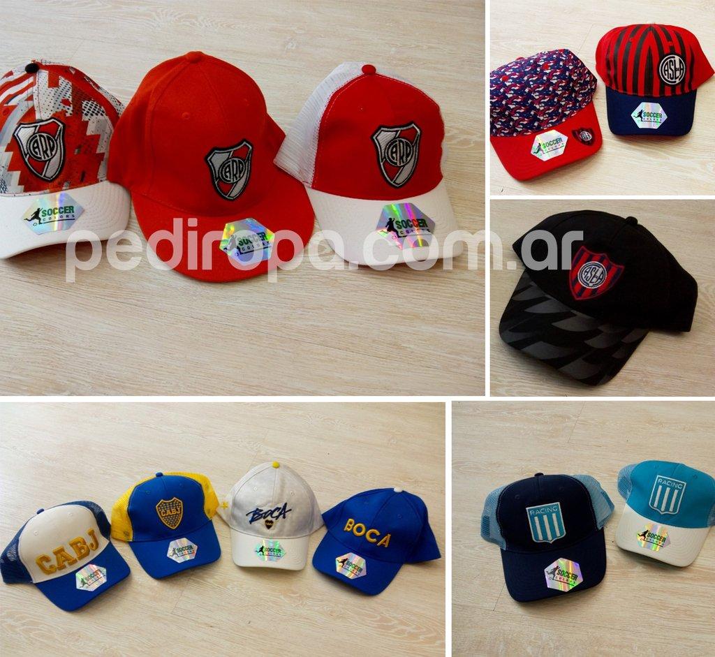 Pack x 5 Gorras Oficiales - Comprar en pediropa b81fc4dd0a0