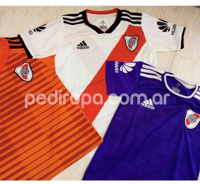 Pack x 7 Camisetas de River   Boca. Niños y Adultos 6f5e2f6ec70