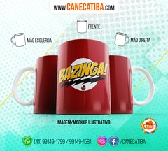Caneca The Big Bang Theory 4 na internet