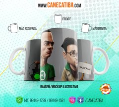 Caneca The Big Bang Theory 5 na internet