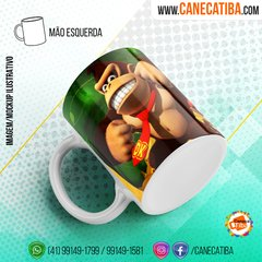 Caneca Donkey Kong Country