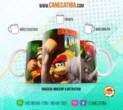 Caneca Donkey Kong Country na internet