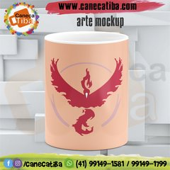 Caneca Pokémon Team Valor na internet