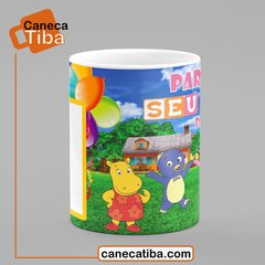 Caneca Backyardigans na internet
