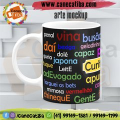 Caneca Curitibanices Black na internet