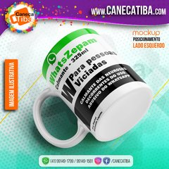 Caneca WhatsZepam na internet
