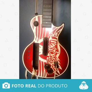 Guitarra Guitar Hero Les Paul Aerosmith Original - Wii
