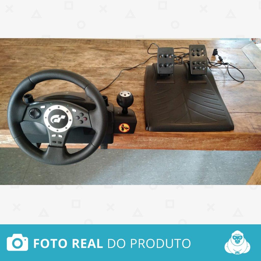 2431787303d Volante Logitech Driving Force Pro Gt Edition Original Logitech - Ps3 E Pc