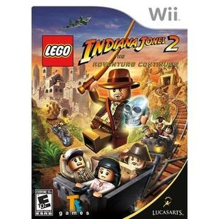 Lego Indiana Jones 2 - Wii
