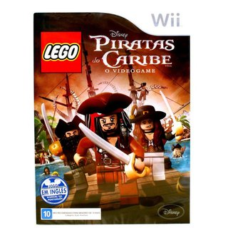 Lego Piratas do Caribe - Wii