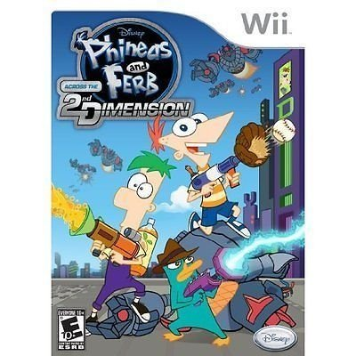 Phineas and Ferb 2nd Dimension - Wii