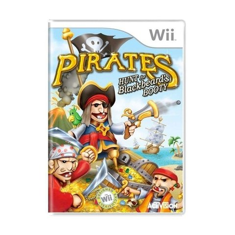Pirates Hunt for Blackbeards Booty - Wii