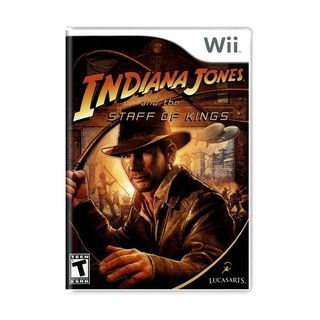 Indiana Jones And The Staff Of Kings - Wii