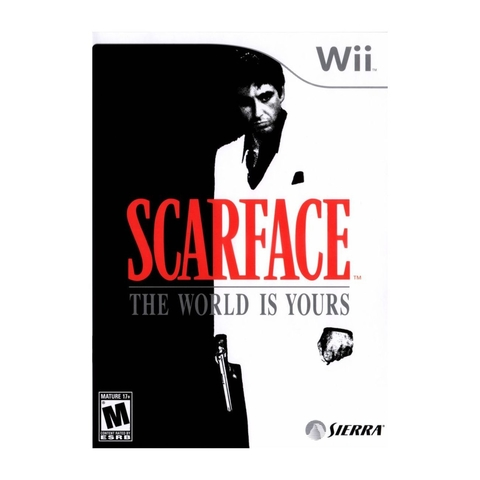 Scarface the World is Yours - Wii