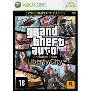 GTA Episodes From Liberty City - Xbox 360