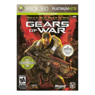 Gears of War 1 Greatness is Earned The Complete Edition - Xbox 360