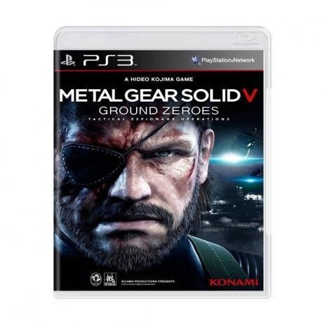 Metal Gear Solid V Ground Zeroes - Ps3