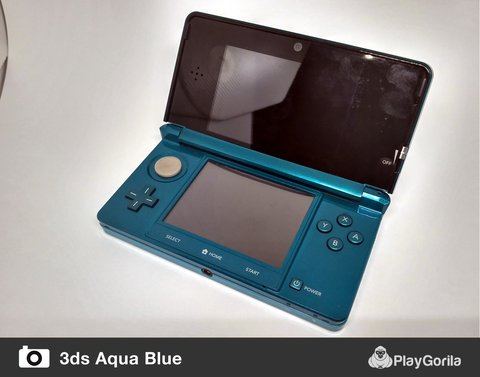 Nintendo 3ds - Aqua Blue na internet
