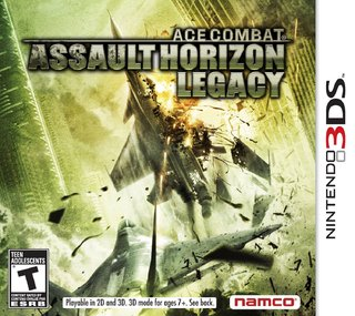 Ace Combat Assault Horizon Legacy - 3ds