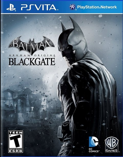 Batman: Arkham Origins Blackgate (sem caixinha) - Ps Vita