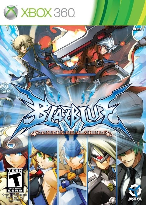 Blazblue Continuum Shift - Xbox 360