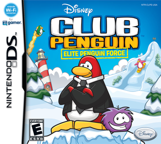 Club Penguin Elite Force - DS