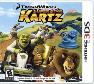 DreamWorks Super Star Kartz - 3ds