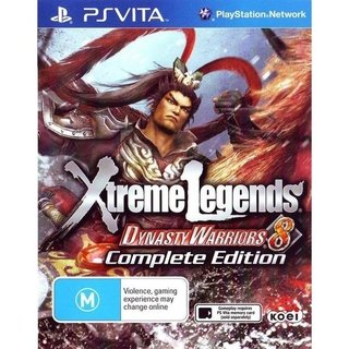 Dynasty Warriors 8 Xtreme Legends - Ps Vita