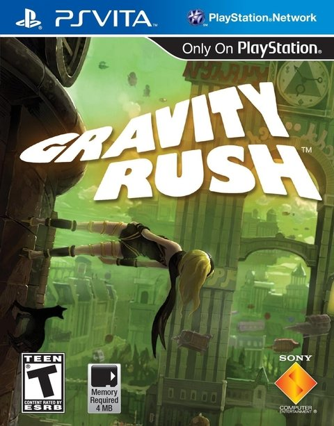 Gravity Daze (Rush) Japonês - Ps Vita
