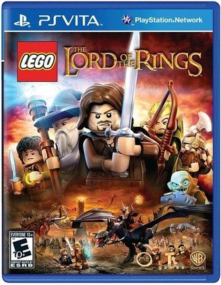 Lego Lord of the Rings (sem caixinha) - Ps Vita