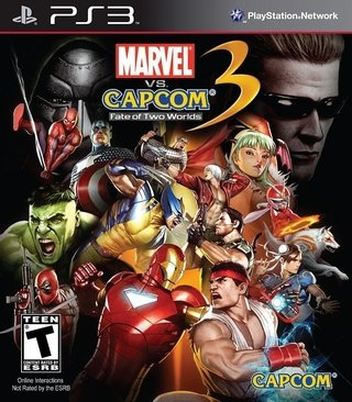 Marvel Vs. Capcom 3 Fate Of Two Worlds - Ps3
