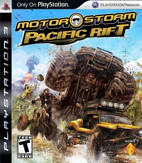 Motor Storm Pacific Rift - Ps3