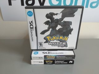 Pokemon White Version (com manual) - Ds