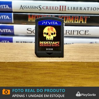 Resistance Burning Skies (Sem Caixinha) - Ps Vita