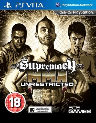 Supremacy MMA -  Ps Vita