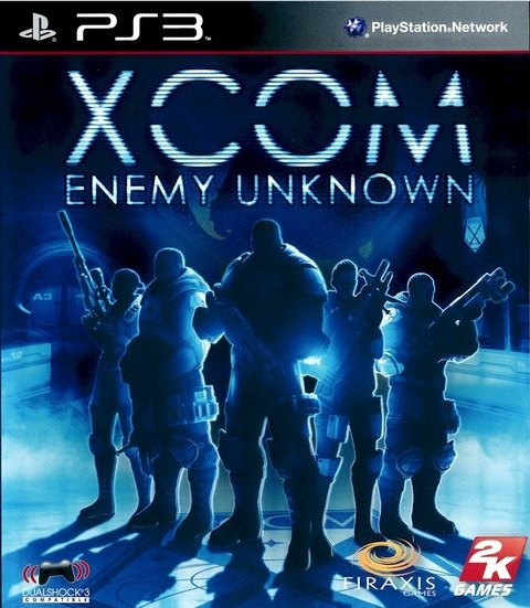 X Com Enemy Unknown - Ps3
