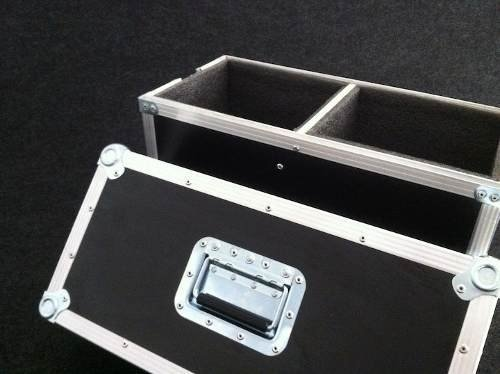 Road Case Duplo Para Monitores M-audio Bx5
