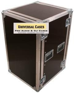 Road Case Rack 15u C/ Rodas