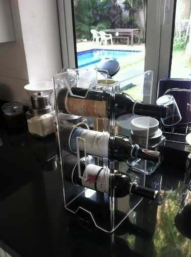 Rack De Vinhos Modular Wine Cases na internet